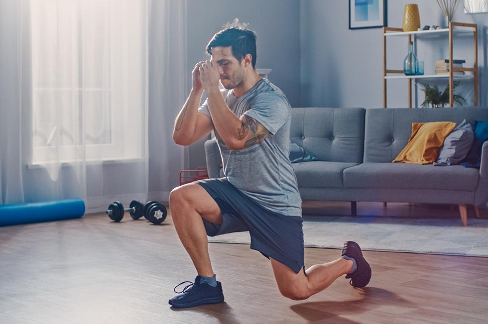 Dlaczego wdomu łatwo jest ćwiczyć nogi?