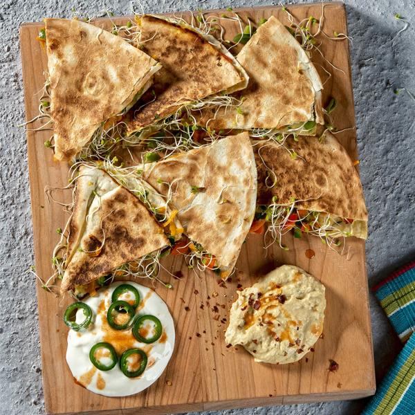 Warzywno-serowe quesadillas