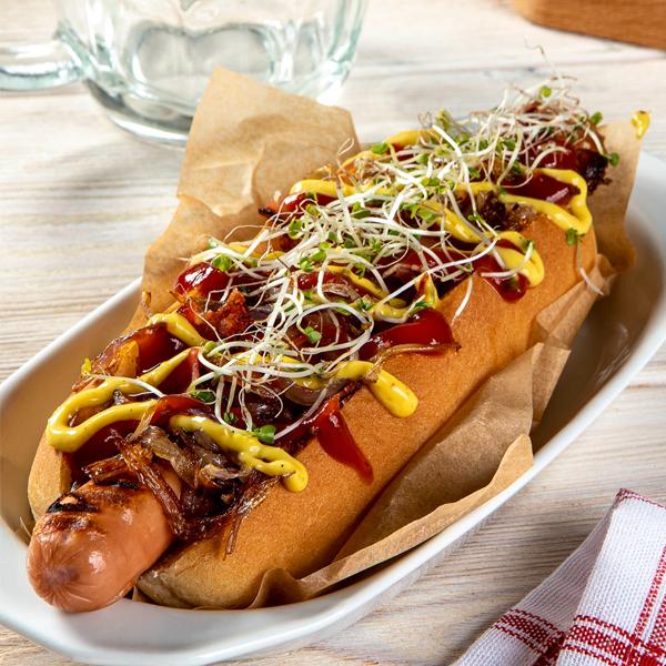 Hot dog wstylu nowojorskim